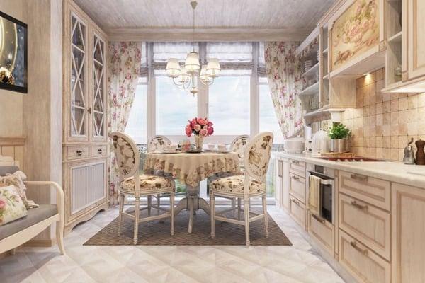 дораме интерьер кухни в стиле прованс фото картинки выяснилось